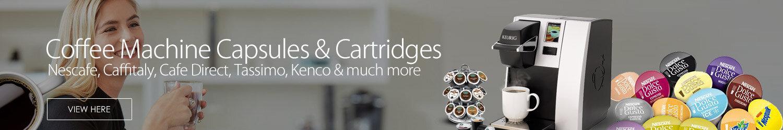 Coffee Machine Capsules & Cartridges