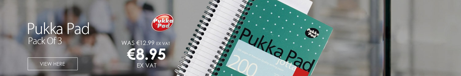 Pukka Pad Jotta A5 Punched Notebook Ruled 200 Pages Pack 3