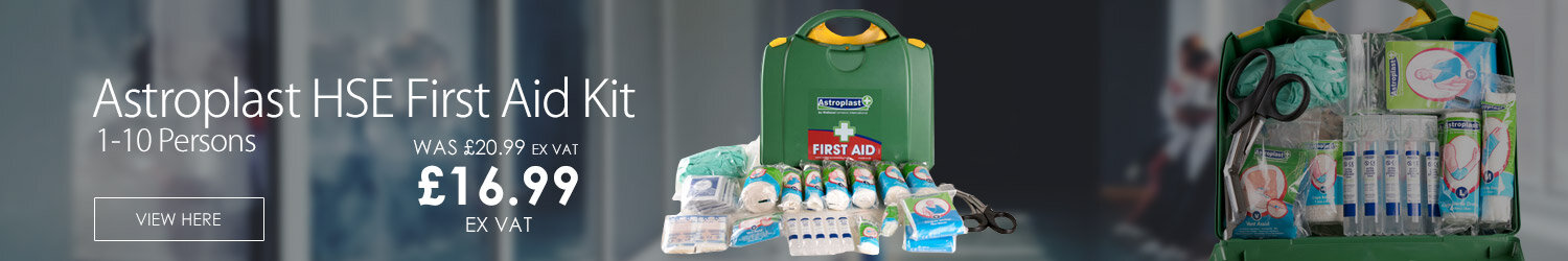 Astroplast Green Box HSA First Aid Kit 1-10 Person
