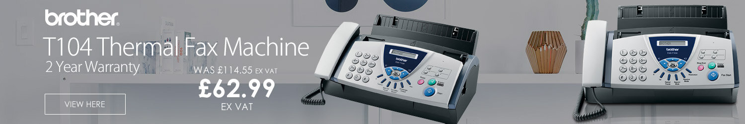 Brother Fax T104 Thermal Fax Machine