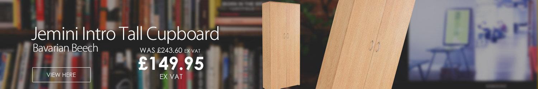 Jemini Intro 1750mm Tall Cupboard Bavarian Beech KF838403