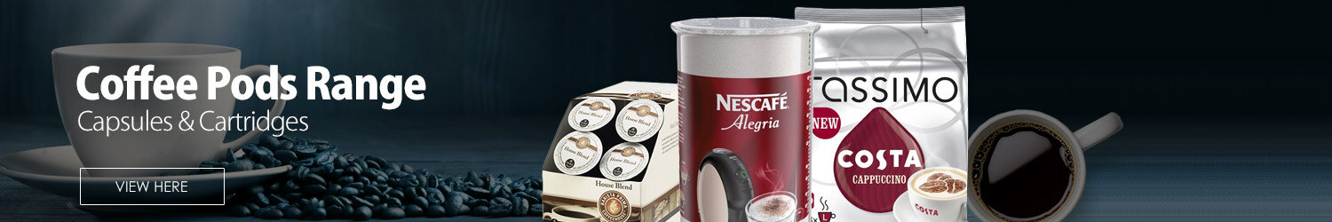 Coffee Machine Capsules & Cartridges