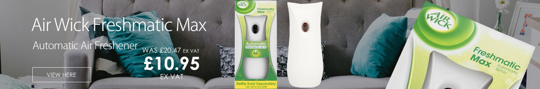 Air Wick Freshmatic Max Automatic Air Freshener Unit Spray Gadget White 3016868