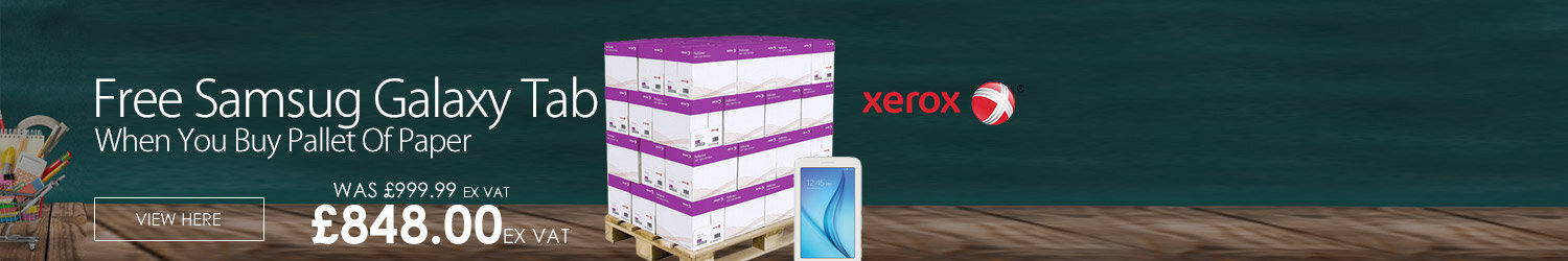 Free iPad with Pallet of Xerox paper