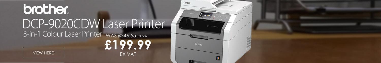 Brother DCP-9020CDW High Speed 3 in 1 Colour Laser Printer Duplex Wireless