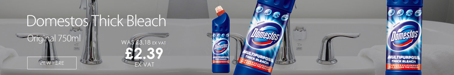 Domestos Bathroom Freshener Disinfectant Professional Thick Bleach Original 750ml