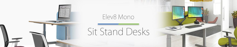 Elev8 Mono desk banner