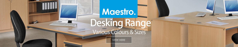 Maestro Desking Range