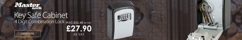 Masterlock 4-digit Combination Lock Key Safe Cabinet