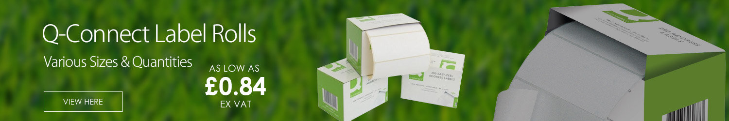 Q-Connect Label Roll Multifunction Labels