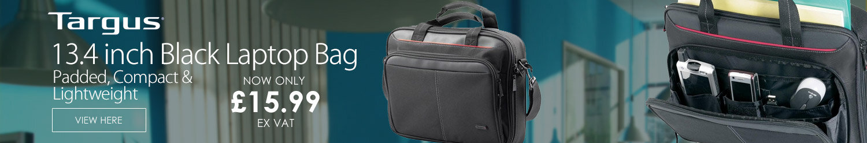 Targus 13.4 inch Black Laptop Bag