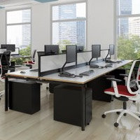 Adapt II Bench Desks Furniture Range