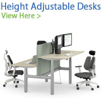 Stocked Height Adjustable Desks