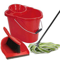 Mops, Buckets, Brushes & Accessories