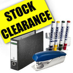 Stationery & Supplies - Stock Clearance
