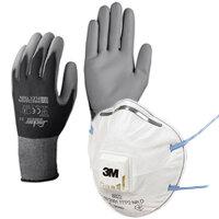 Work Gloves & Masks