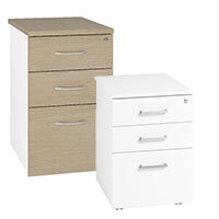 Arista Home Office Storage: Pedestals
