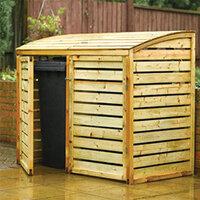 Outdoor Bin Storage
