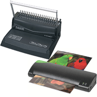 Binding, Laminating & Cutters