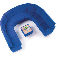 Budget Modular Soft Seating
