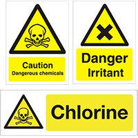 Chemical Hazards Signs