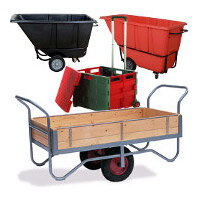 Container Trucks, Trolleys & Carts
