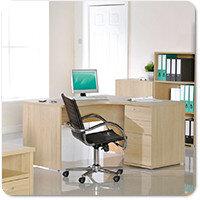 Eco Blonde Oak Home Office Furniture Range