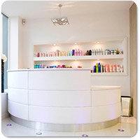 Hair & Beauty Salon Reception Desks