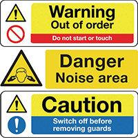 Machinery Hazard Signs