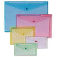 Plastic Document Wallets