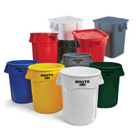 Rubbermaid BRUTE Utility Containers