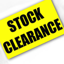 **Stock Clearance**