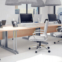 Trexus Beech Cable Managed Desking & Office Furniture Range
