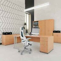 Trexus Beech Cantilever Desking & Office Furniture Range
