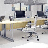Trexus Maple Cable Managed Desking & Office Furniture Range