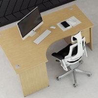 Trexus Maple Panel End Desking & Office Furniture Range