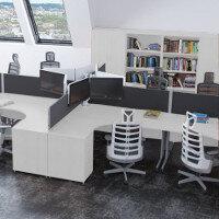Trexus White Office Furniture Ranges