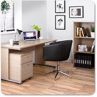 Urban Blonde Oak Home Office Furniture Range