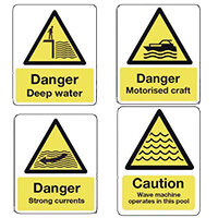 Water Caution & Warning Signs