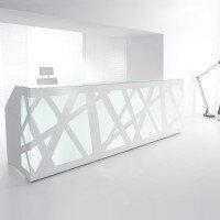 Zig Zag Reception Desks