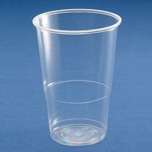 MyCafe Disposable Water Plastic Cups 7oz/200ml Clear [Pack of 1000] RY0146 Additional Image 2
