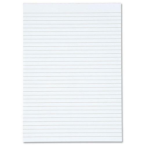 White Box Memo Pad 80 Leaf Ruled A4 [Pack 10]