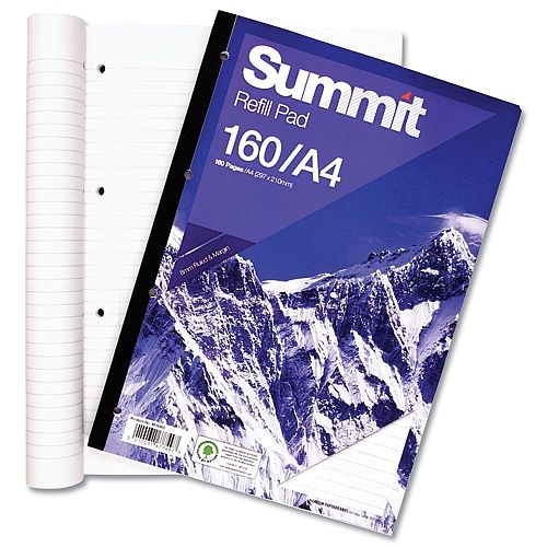 A5 Hardback Casebound Notebook 160 Pages White Feint Ruled Black//Blue//Purple//Red