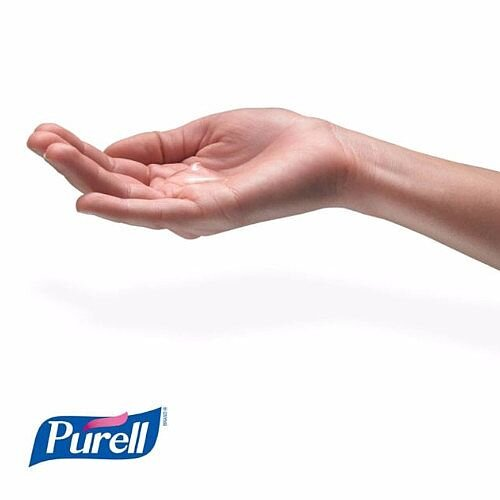 Purell Advanced Hygienic Hand Sanitiser Hand Rub Gel 500ml (Pack 1) 9268-12-EEU00 Additional Image 4
