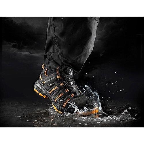 Black//Orange SOLID GEAR Hydra GTX Safety Trainers