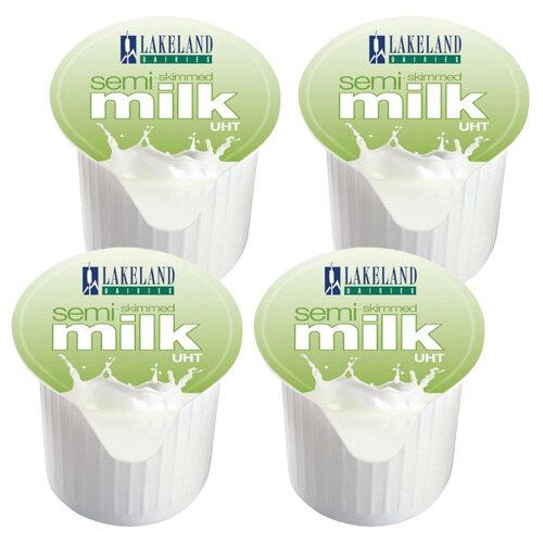 Lakeland Semi-Skimmed 14ml Milk Pots (Pack of 120) A00879