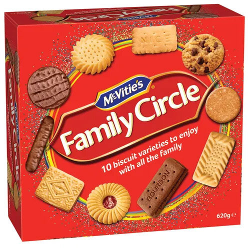 McVities Family Circle Biscuits 670g Box Assorted Pack 1 Additional Image 1