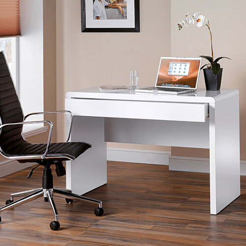 Luxor Home Office Workstation & Martinez High Back Managers Chair Additional Image 1