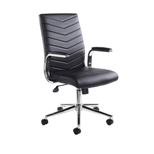 Luxor Home Office Workstation & Martinez High Back Managers Chair Additional Image 3