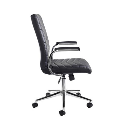 Luxor Home Office Workstation & Martinez High Back Managers Chair Additional Image 4
